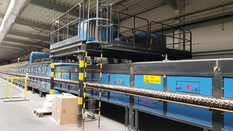 The latest machine from Floor Production Plants