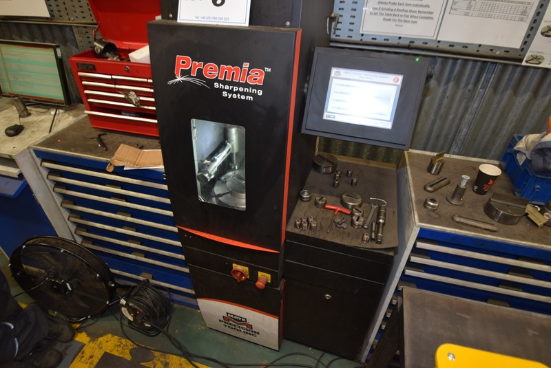 Premia - Automatic Tool Grinder