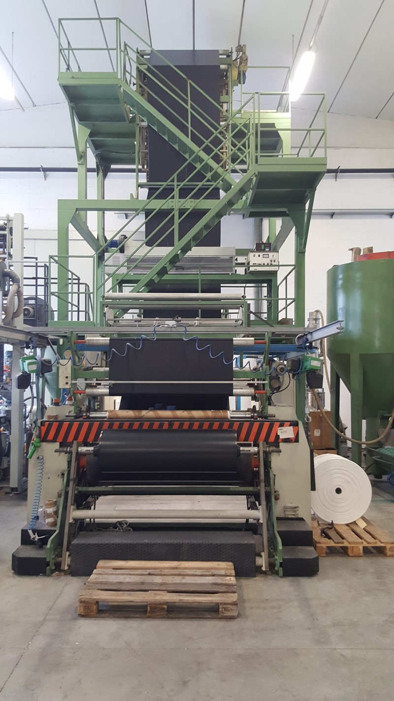 The latest machine from Blown Film Lines