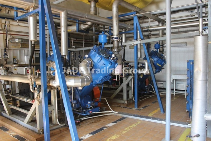 CO2 Purification and Liquifying Plant - Union Engineering 1500 kg/h