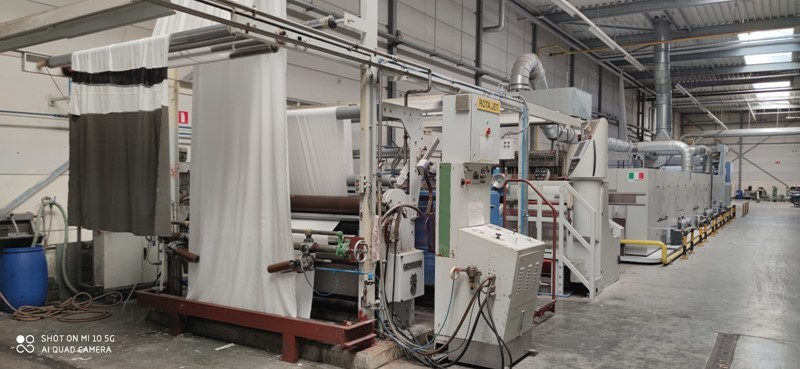 The latest machine from Complete Textile Lines