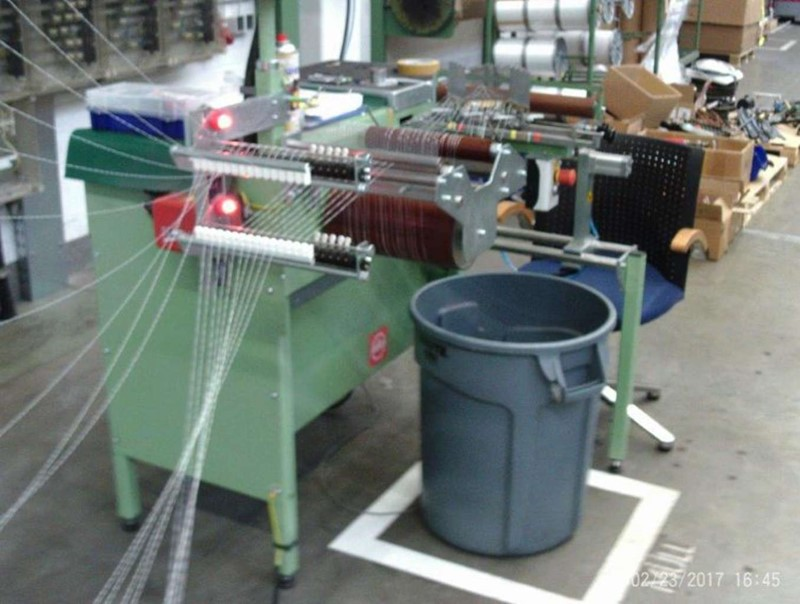 The latest machine from Warping