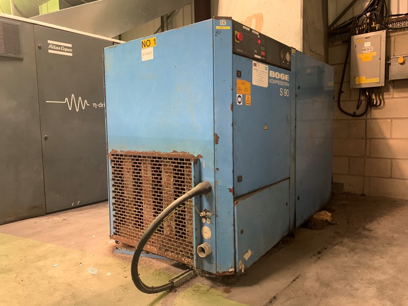 BOGE - S90 Fixed Speed Air Compressor
