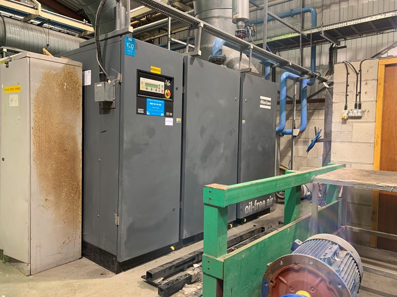 ATLAS COPCO - ZE 55 Air Compressor Oil Free