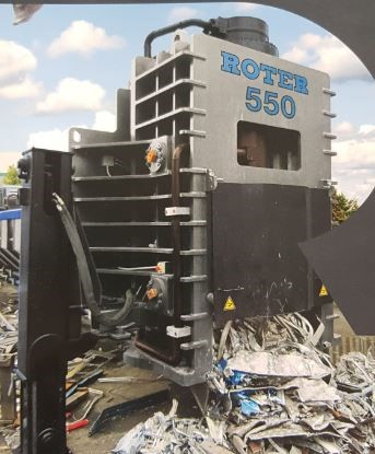 The latest machine from Metal Recycling