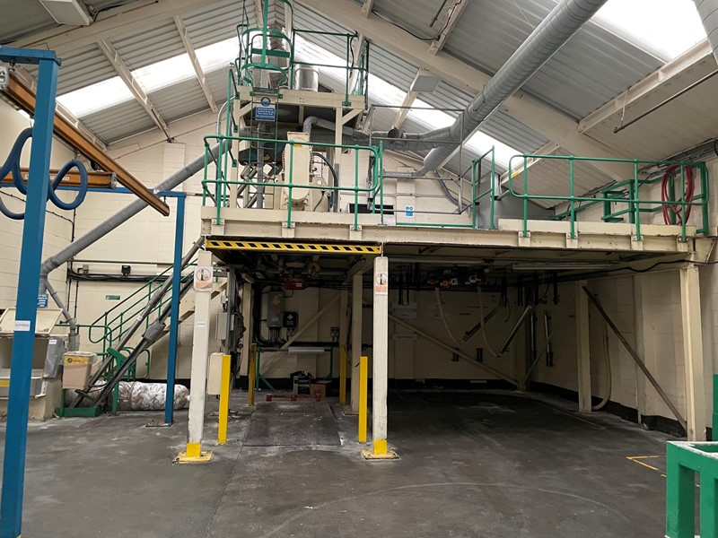 MORTON - FKM 1200D  Powder Mixing Plant