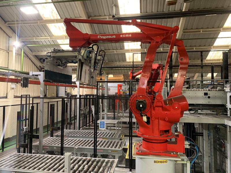 The latest machine from Palletisers