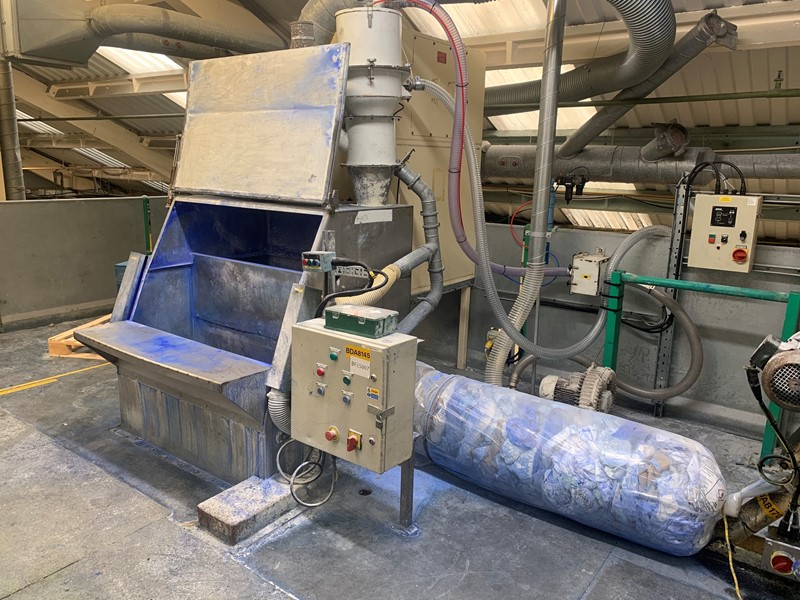 The latest machine from Textile Recycling