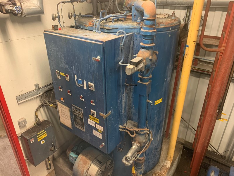 WANSON - 1000B Thermal Fluid Heater