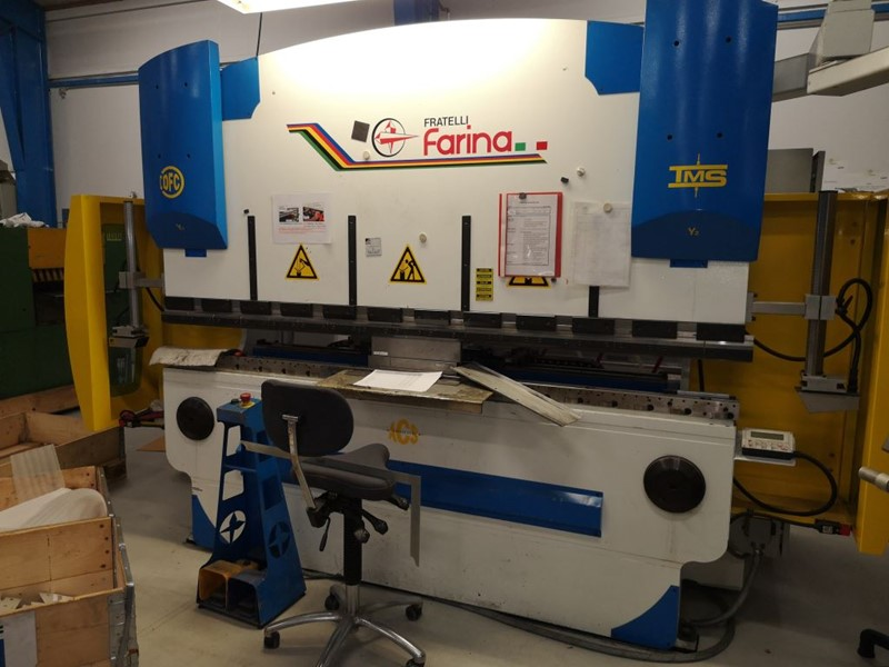 Farina press brake - PFO/PS/N  65/25