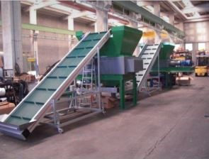 MADE IN ITALY - TIRE RECYCLING LINE