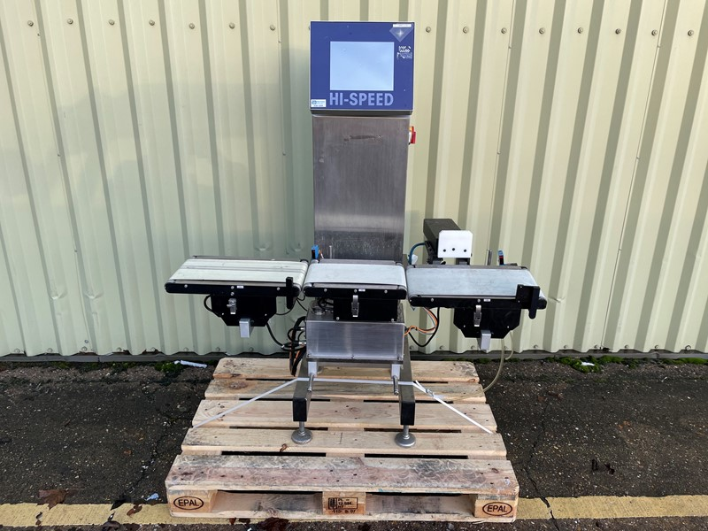 The latest machine from Weighing / Metal Detectors