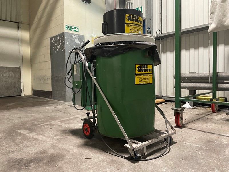 The latest machine from Cleaning Plant