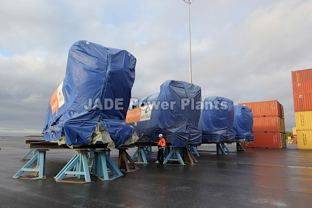 Gas Engine Generating Sets Wartsila - 4 x 20V34SG - BRAND NEW
