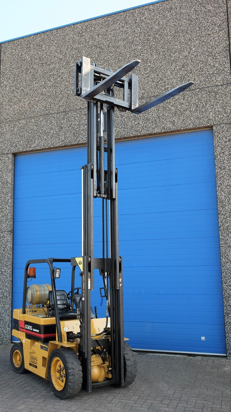 The latest machine from Gas - Counterbalance