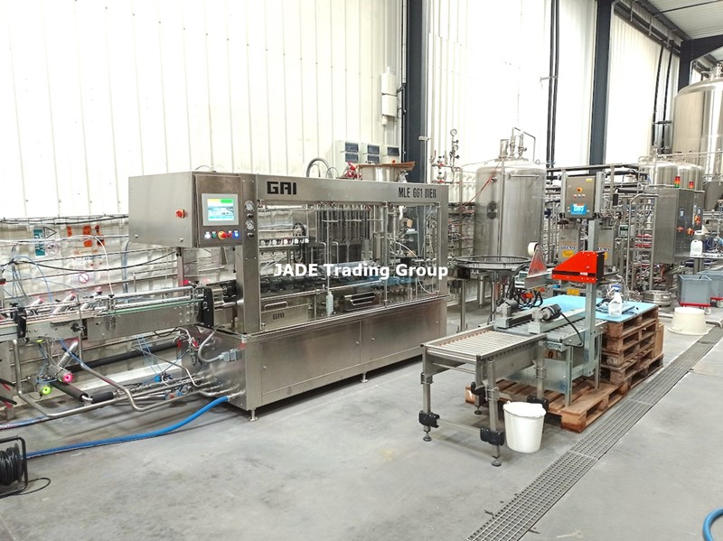 The latest machine from Complete Filling Lines