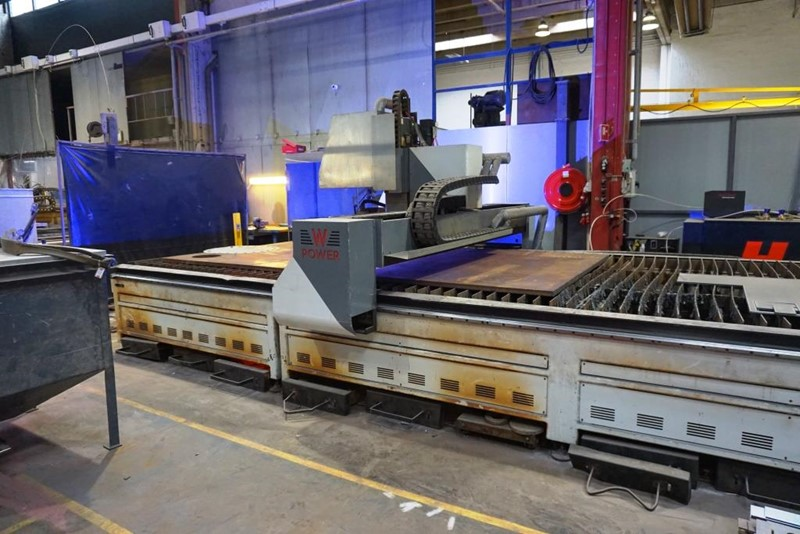 Warcom plasma cutting machinem  -  W-Power 6060
