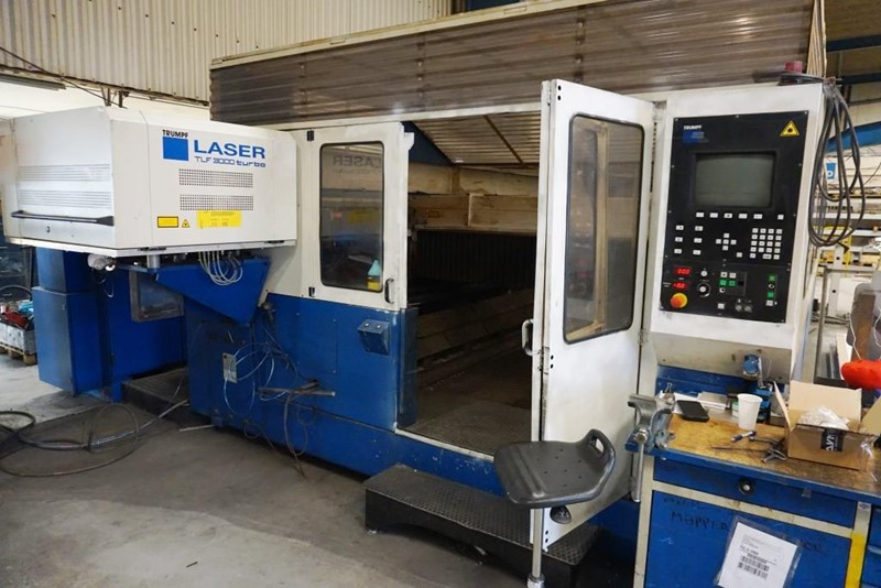 TRUMPF  CNC laser cutting machine  - Trumatic  L-6030