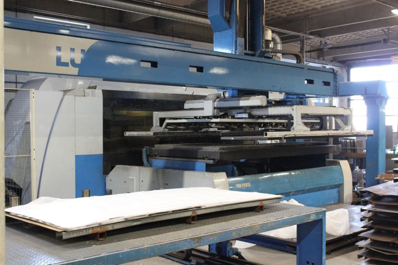 Finnpower   laser cutting machine -  L1-4000 w