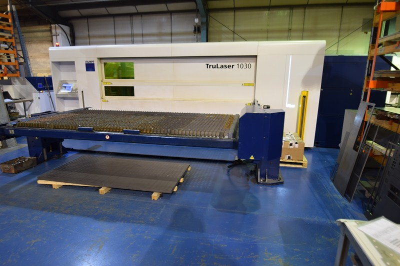 Laser Fiber Trumpf Trulaser 1030 For Sale