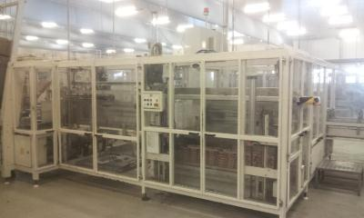 GEI Europack - Fully automatic case erector/packer
