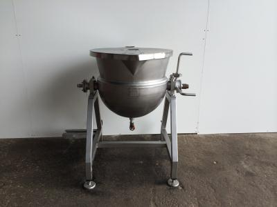 Foodmek - 150L Stainless tipping process vessel