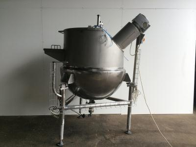 Giusti - 500L scrape surface steam heated vessel