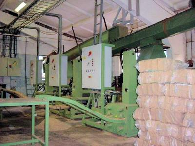 "U M P - ""BP 420A"", BRIQUETTE PRESS (SQUARE BRICK)"