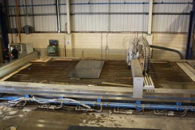 Waterjet Sweden - NC4090Q 4 head